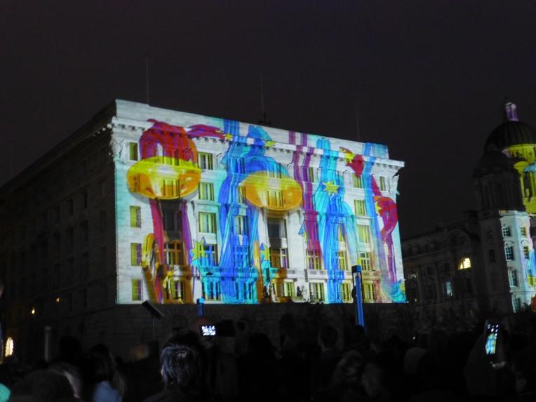 Amazing Graces Light Show  Liverpool
