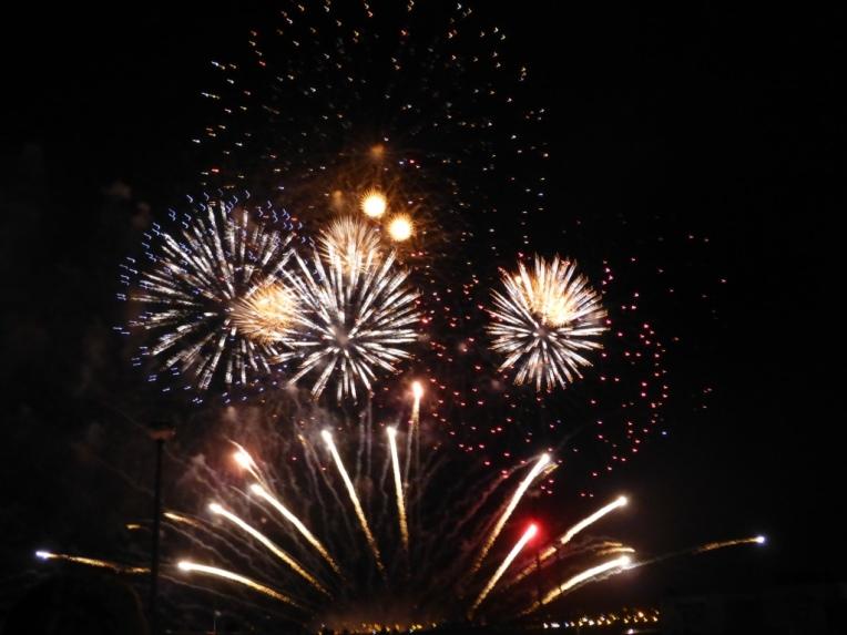 Cunard 175 Fireworks, Liverpool