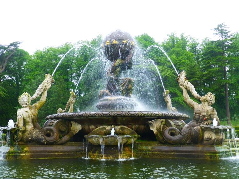 The Atlas Fountain castle Howard