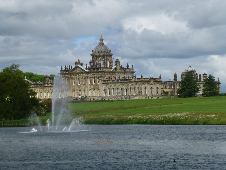 Castle Howard with Prince of Wales Fountain