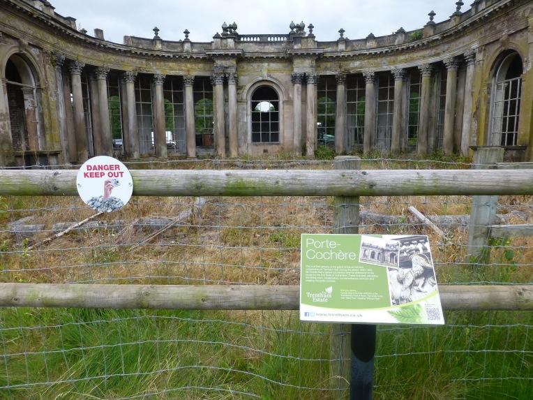 Trentham Hall Remains
