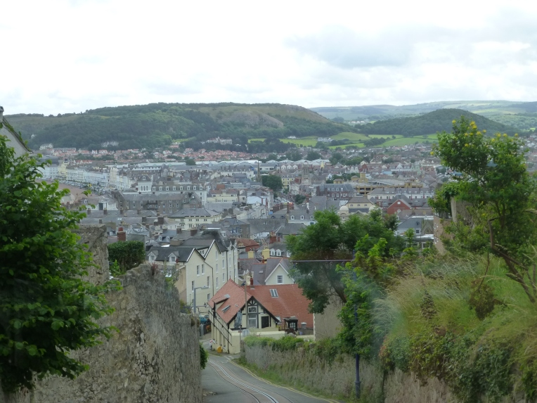 Llandudno from The Great Orme Tramway