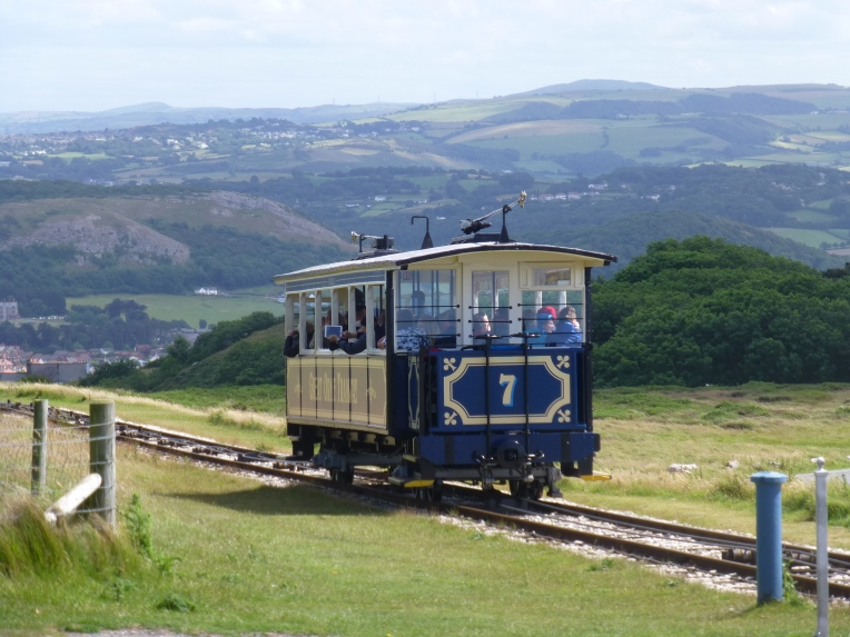 The Great Orme Tramway views