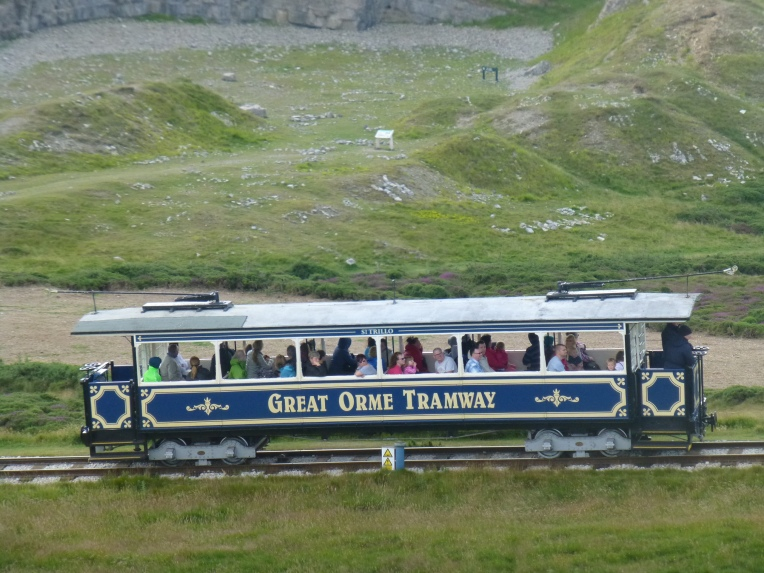 The Great Orme Tramway and quarry