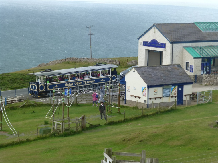 Playground at The Great Orme