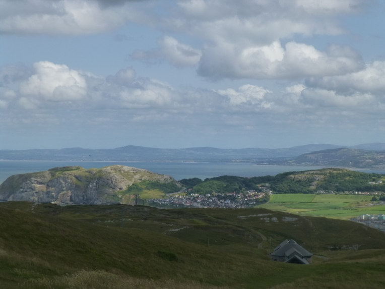 View from The Great Orme