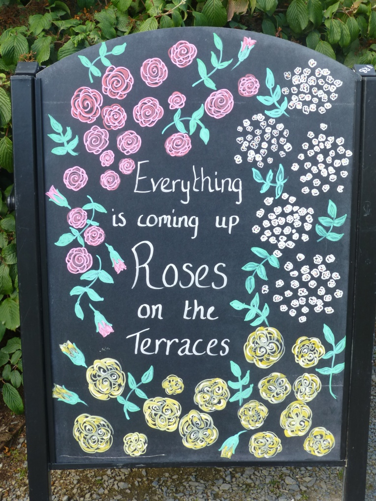 Bodnant Garden sign