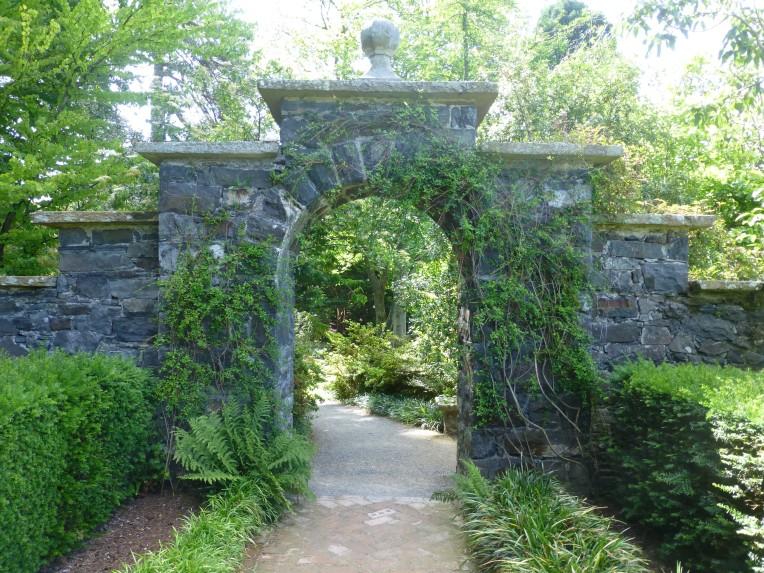 Bodnant Garden Archway
