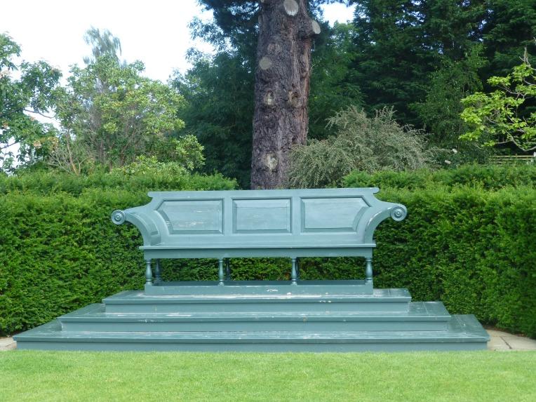 Bodnant Garden bench