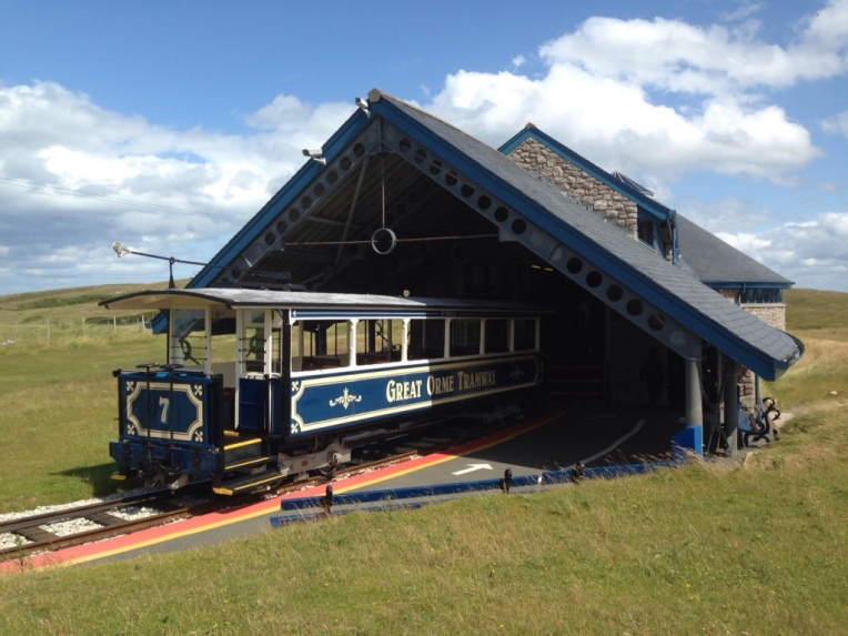 The Great Orme Tramway Halfway Station